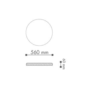 Bilde av Rosett R15 PU 560mm Deco Systems