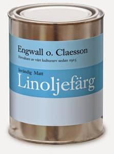 Bilde av Innvendig hvit matt linoljemaling Engwall o